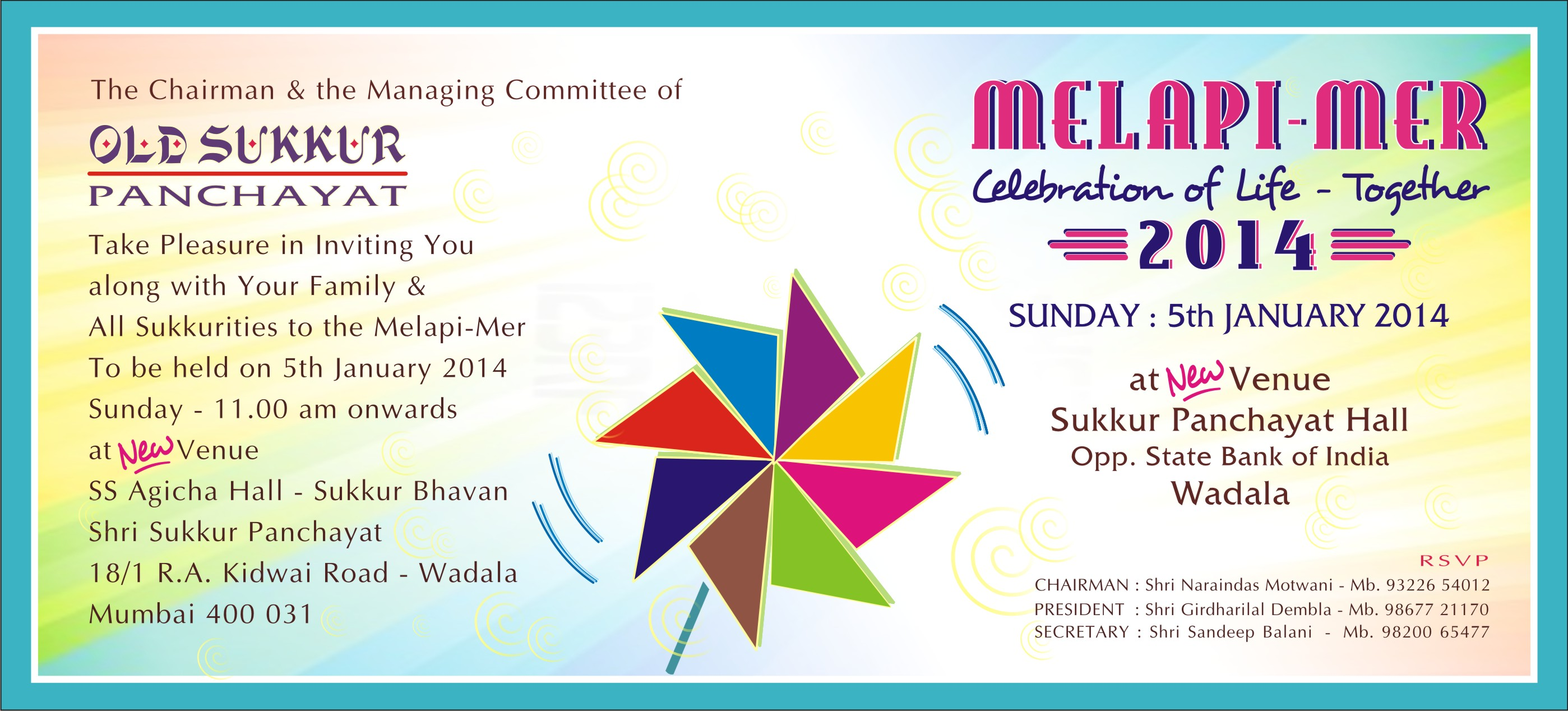 Invitation Card Melapimer